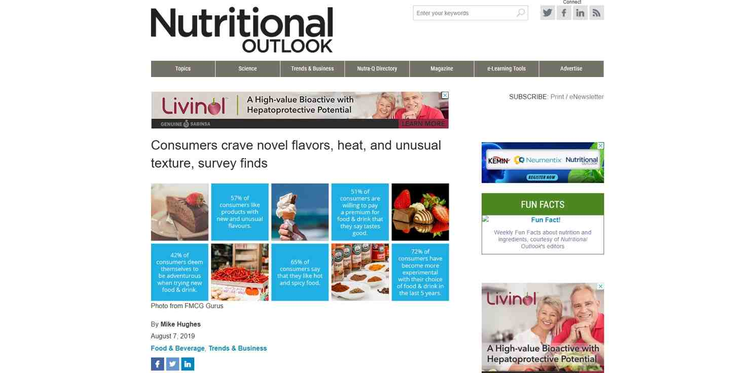 Image of Nutritional Outlook