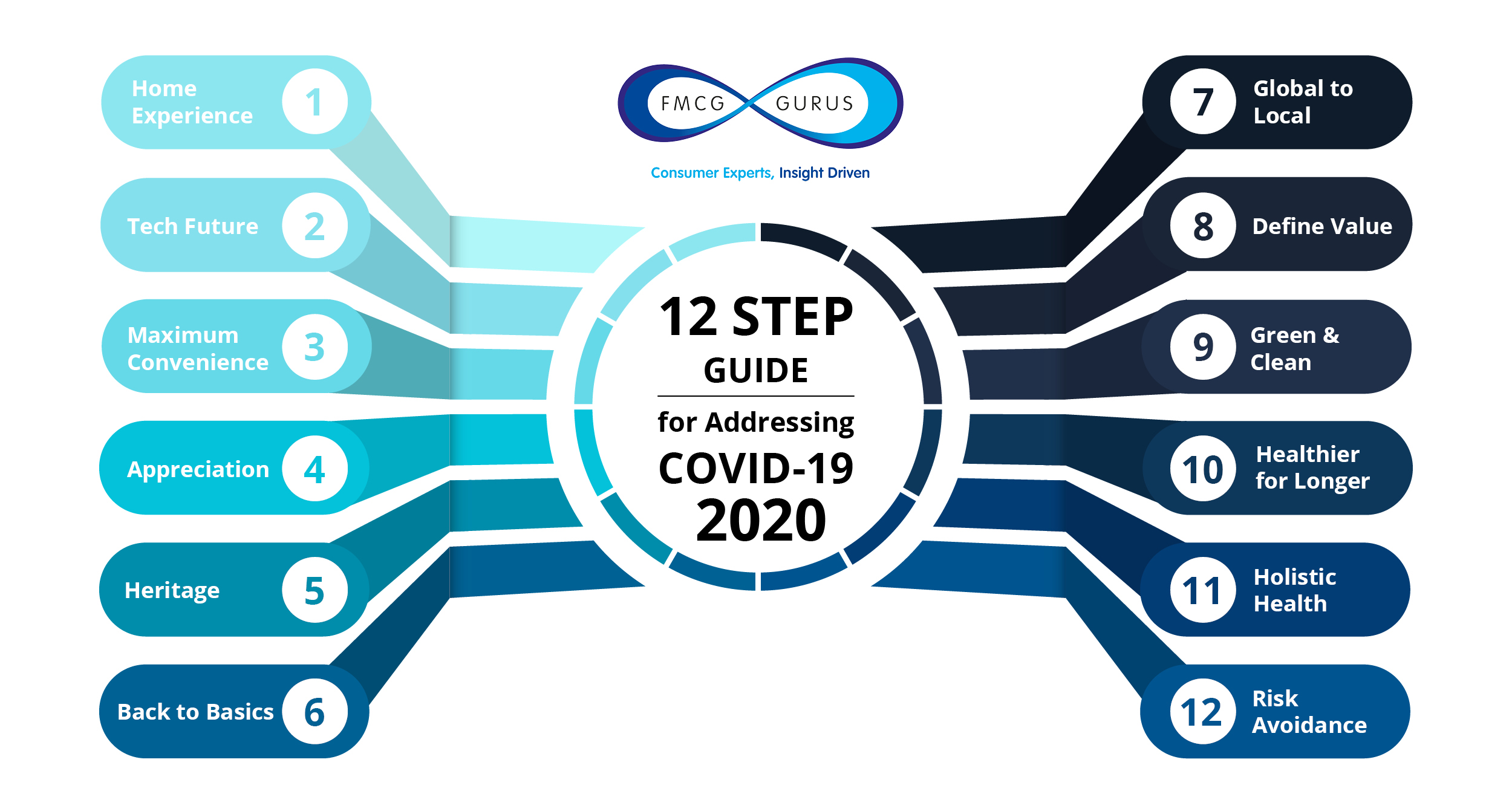 Download FMCG Gurus 12 Step Guide addressing COVID-19.