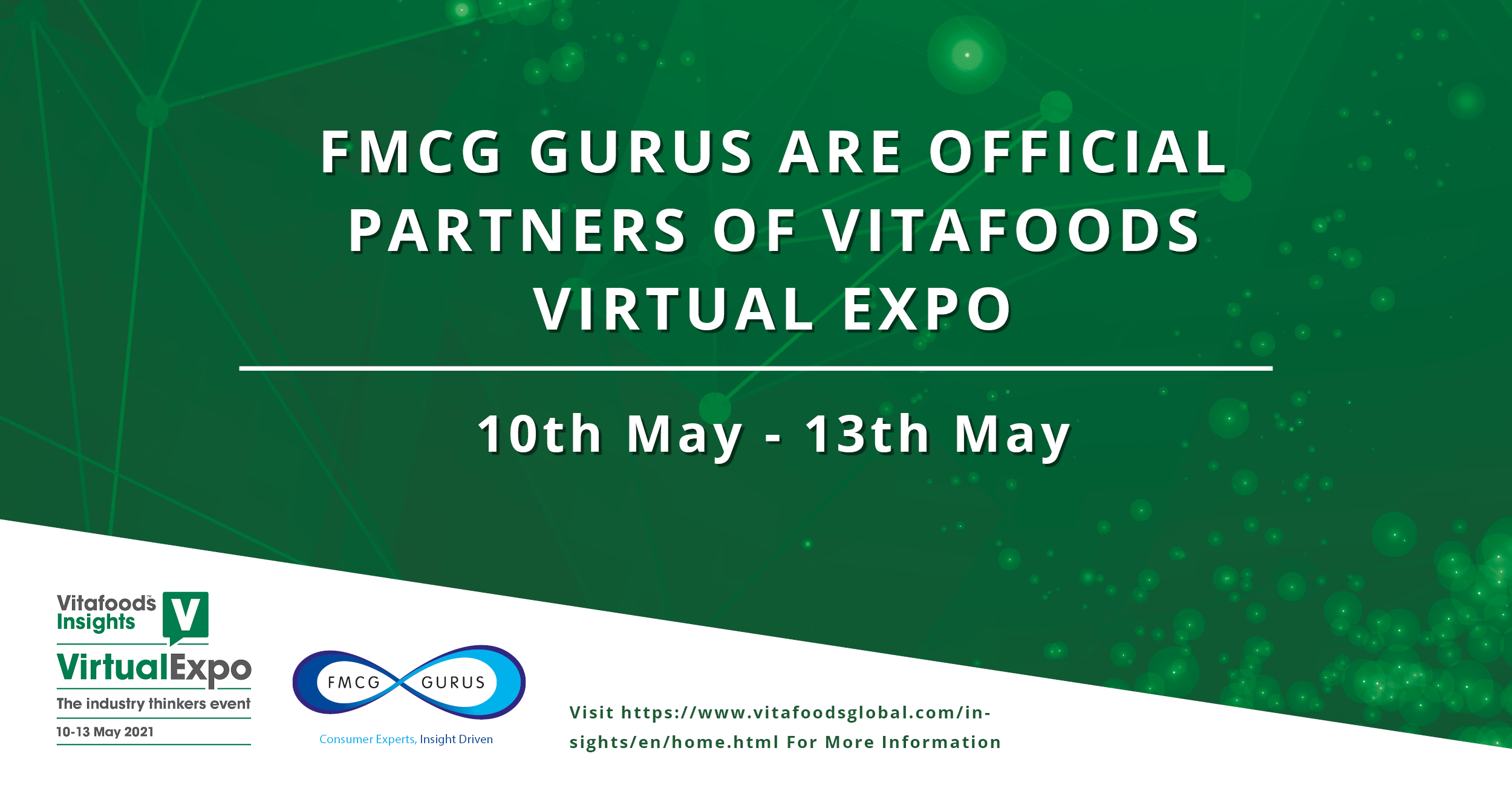 FMCG Gurus are Official Partners of Vitafoods Virtual Expo.