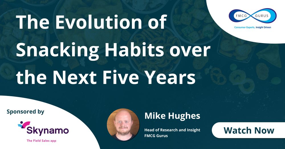 Watch Now: The Evolution of Snacking Habits.